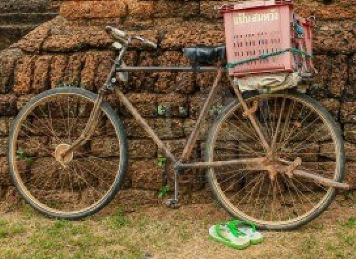 bike ride northern Thailand
